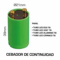 cebador de continuidad para tubos led T8 DE VARIOS TIPOS.