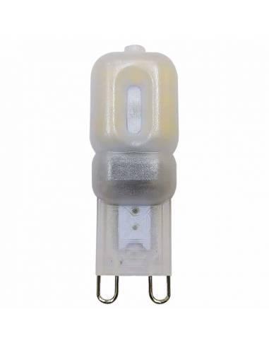 BOMBILLA G9 LED 2 pin entrelazados. Bombilla pequeña led