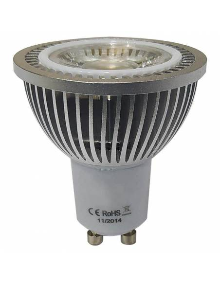 BOMBILLA DICROICA LED COB 1X5W GU10 imagen LED42