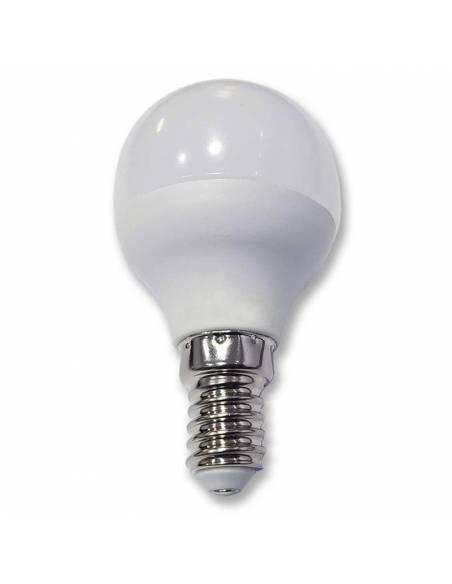 BOMBILLA ESFÉRICA DE 6W TECNOLOGÍA LED con tornillo o rosca E14