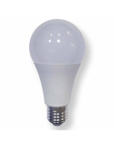 Bombilla led de 15W y rosca o tornillo E27. gran luminosidad y 300º de arco luminoso.
