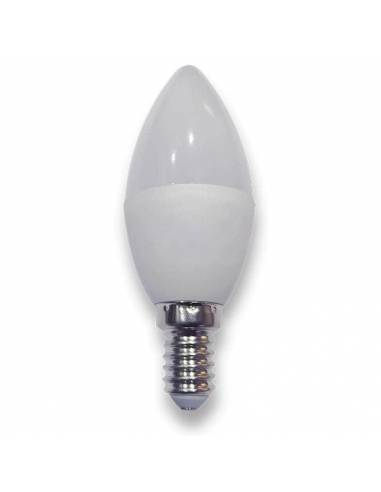 bombilla vela led E14 de potencia 4w. foto de led42.