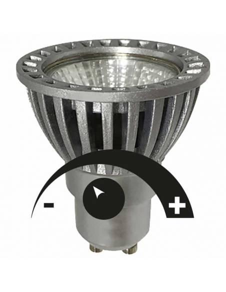 BOMBILLA DICROICA LED COB 1X6W GU10 D-ECO REGULABLE imagen led42.es.