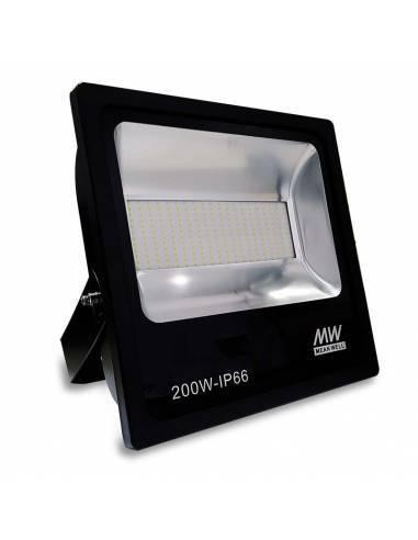 Proyector LED 200W de exterior, modelo FORK.