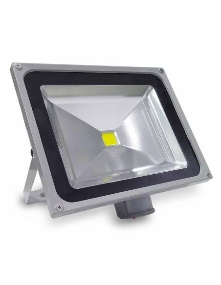 Proyector LED de 50W, modelo EXTERIOR con SENSOR DE MOVIMIENTO.