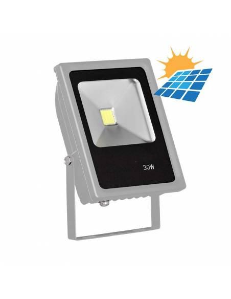 Proyector LED 30W exterior, CONCORD para placas solares.