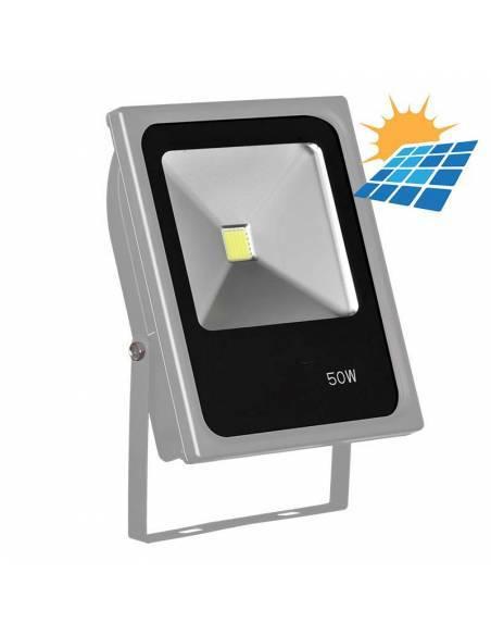 Proyector LED 50W exterior, CONCORD para placas solares.