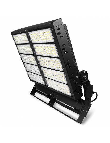 Proyector LED exterior 1000W, modelo MILANO. Para grandes espacios, estadios de fútbol, campos de atletismo, aeropuertos.