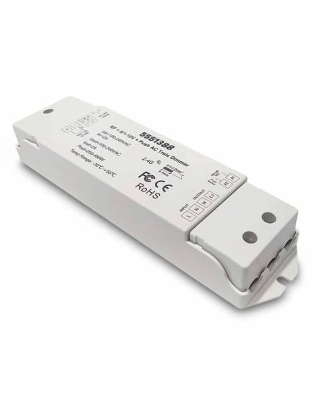 CONTROLADOR.5 compatible para todos los productos LED regulables y sistema TRIAC.