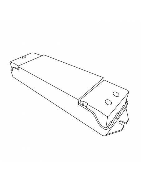 CONTROLADOR.5 compatible para todos los productos LED regulables y sistema TRIAC. Dibujo técnico.