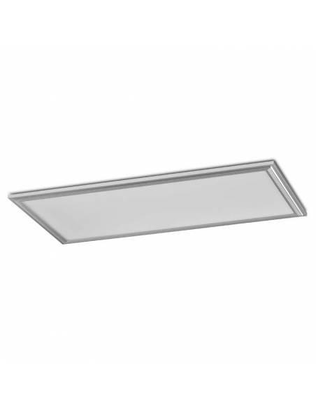 Panel LED, modelo ECO, de 120x60 cms, rectangular, potencia 64W.