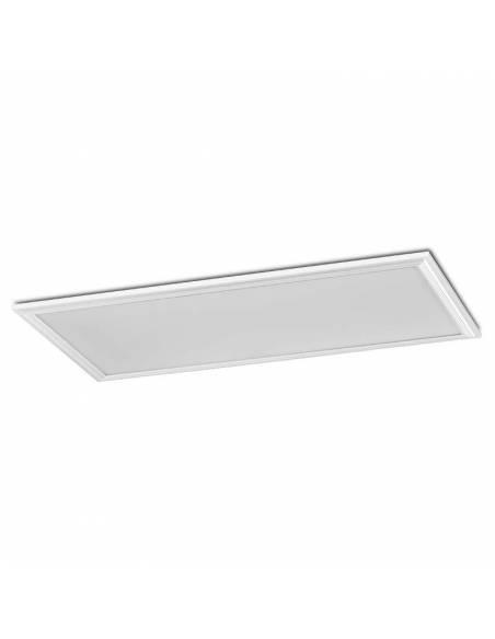 Panel LED, rectangular de 120 x 60 cms, de 80W, color blanco.