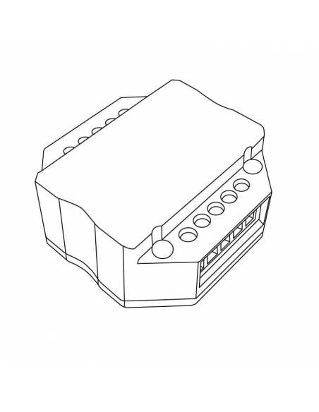 Controlador LED modelo 4 para paneles led. Dibujo técnico