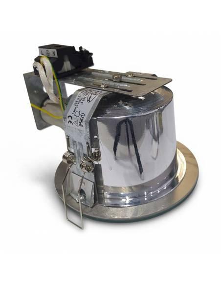 Foco empotrable, downlight ROUND para colocar bombilla de 15W. Imagen 2