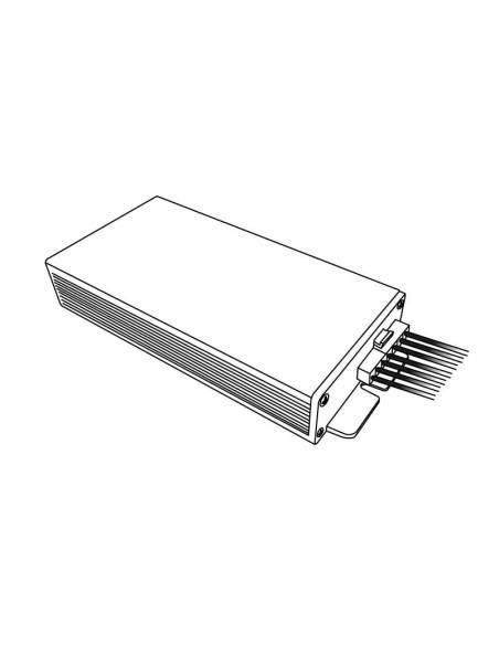 KIT de emergencia para pantalla estanca LED, dibujo técnico.