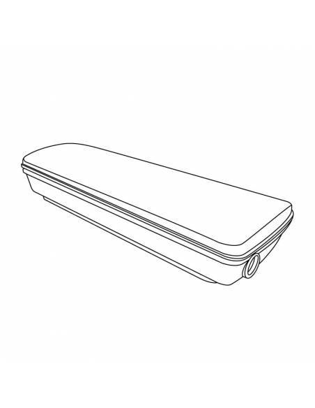 Accesorio caja estanca IP65 para luz de emergencia led IGNI. Dibujo técnico.