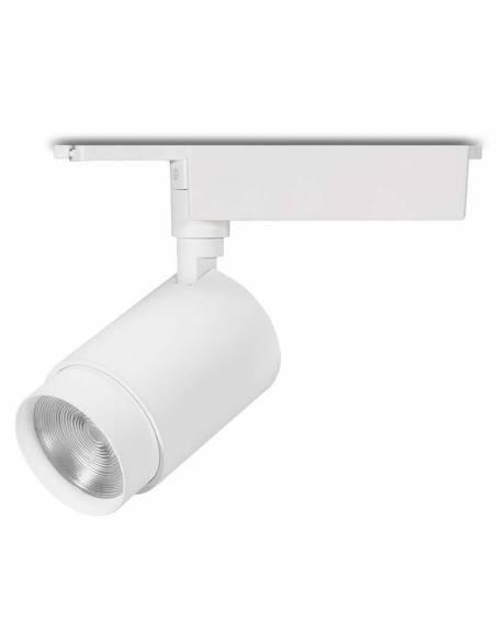 Foco led para carril trifásico, TRACK.24, proyector con chip CREE de 30W, color blanco.
