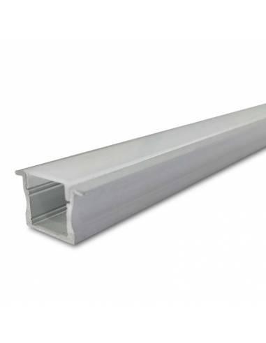 Perfil aluminio empotrable S.ALTO-170, para tiras de led.