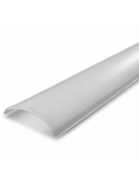 Difusor opal para perfil aluminio E-163, para tiras de led.