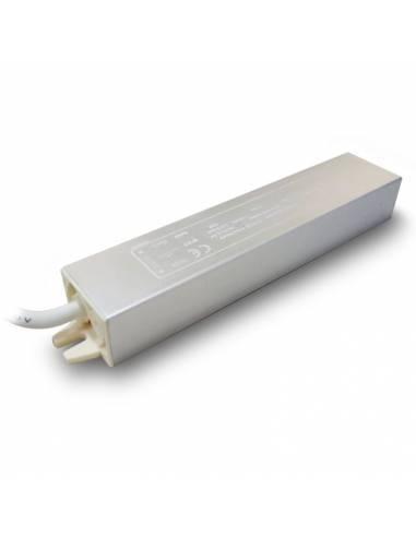Transformador para tiras de LED de 12V, Driver IP67 y potencia de 20W.