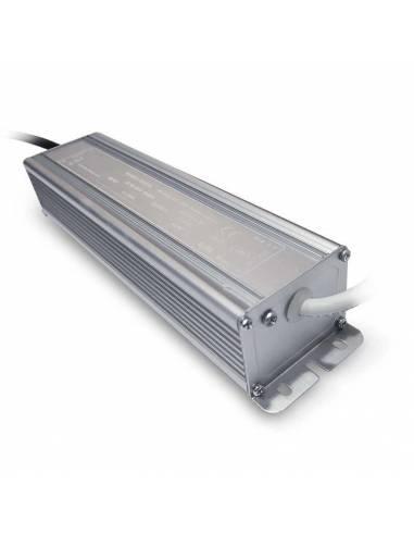Transformador para tiras LED de 12V. Driver con protección IP67.