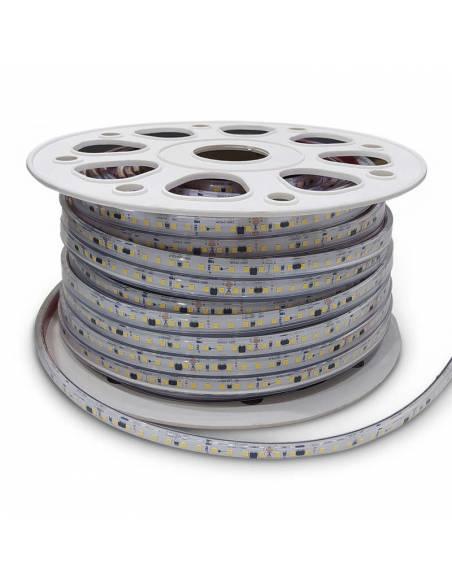 Tira de led directa a red 220V y 230V, Rollo de 50 metros y corte cada 10 cms. Monocolor