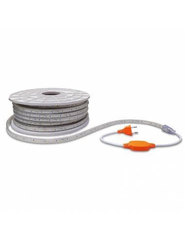 Tira led 2835 corte a 100 cms. de 220V-230V monocolor. IP65 y 60 Led por metro.