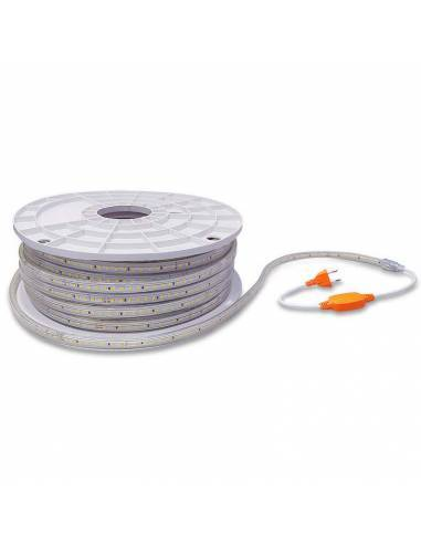 Tira led 2835 corte a 100 cms. de 220V-230V monocolor. IP65 y 120 Led por metro.