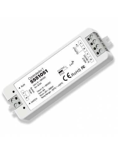 Controlador.1 para tiras de led de 12V y 24V monocolor.