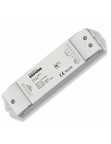 Repetidor.3 para la repetición de las órdenes enviadas a tiras led 12V y 24V RGB y RGBW.