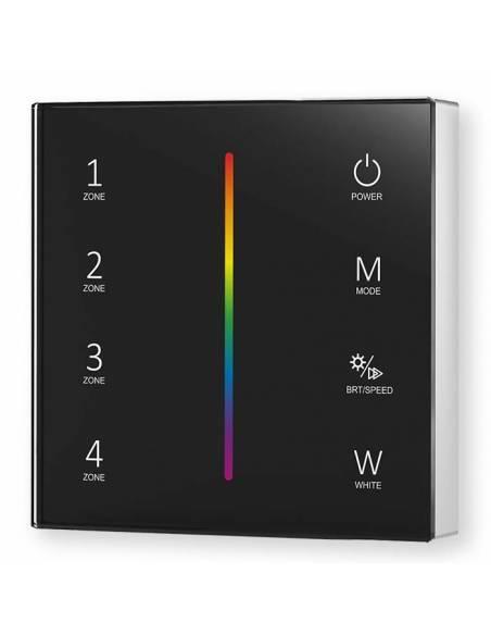 Mando a distancia, EMISOR.12, para TIRAS de LED RGB y RGBW, de 12V y 24V.