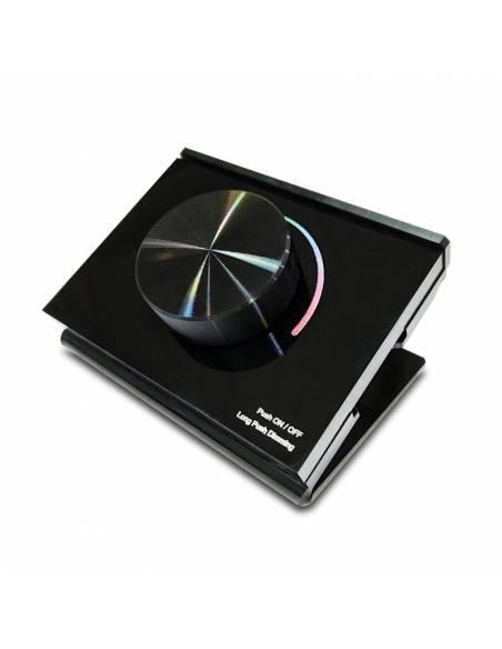 Mando a distancia, EMISOR.15, para TIRAS de LED RGB y RGBW, de 12V y 24V. Mando de sobremesa.