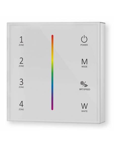 Mando a distancia, EMISOR.11, para tiras de LED de RGB y RGBW.