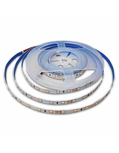 Tira de LED 24V, 2835 de 60 LED/METRO, IP20 MONOCOLOR.
