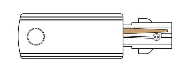 alimentador izquierdo carriles trifásicos